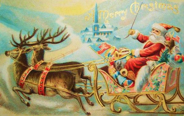 Noel cartes anciennes - Les plus belles cartes de noel ...